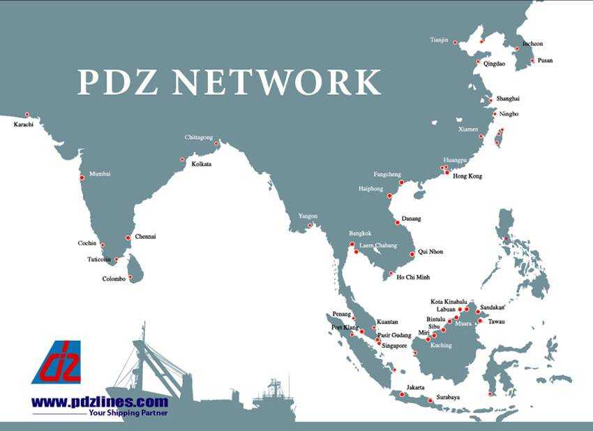 PDZ Network Map